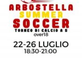 """Torneo gratuito di calcio a 5 """"Arbostella Summer Soccer"""""""