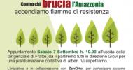 """Legambiente Salerno e la """"food forest"""" contro chi brucia l'Amazzonia"""