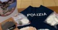 La Polizia trae in arresto giovane pusher salernitano  che si era barricato in casa per disfarsi della droga detenuta