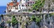 Amalfi. Consolidamento dei costoni: pubblicato un bando da 600mila euro per la progettazione di interventi su 6 pareti di roccia.