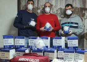 Arechi calcio, gara di solidarietà per fronteggiare l'emergenza sanitaria