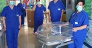 Culletta a navicella per il trasporto sicuro dei neonati, il dono dell'associazione Arcobaleno Marco Iagulli onlus all'ospedale di Battipaglia