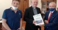 L'incontro dell'arcivescovo Bellandi con il Comitato Ferrovia Eboli-Calitri-Pescopagano