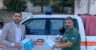 Cinquanta mascherine ffp2 alla protezione civile di Castellabate, la donazione dell'azienda Si Work