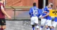 Coppa amara, Samp-Salernitana 1 a 0