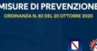 Covid 19, Regione Campania, l'ordinanza numero 82 delle ore 23 di eri
