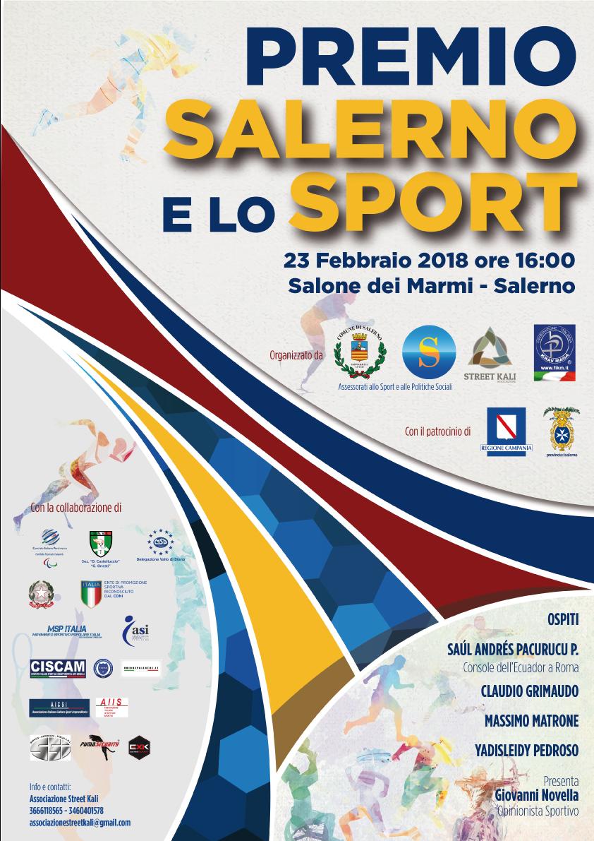 Salerno e lo sport, domani la premiazione | TDS Tele-Diocesi